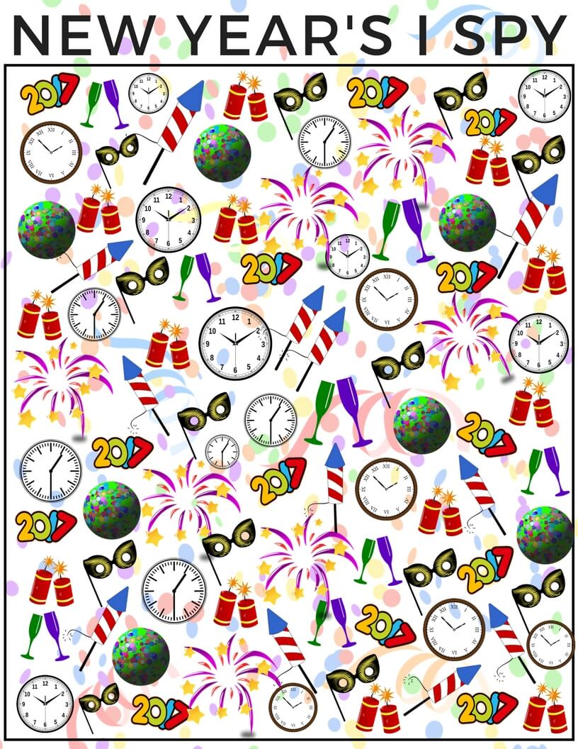 new years counting i spy activity and free