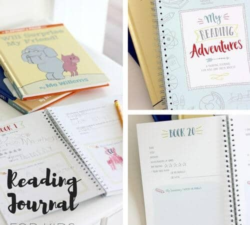Starting Reading Journals with Kids