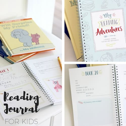 Start a Reading Journal with Kids and Families