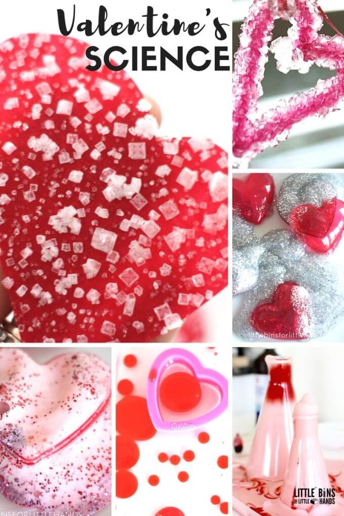 Valentines Day Chemistry Experiments for Kids Valentines Science