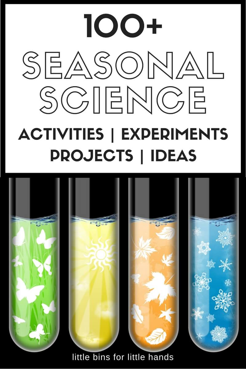 Seasonal Science Experiments And Seasonal Stem Activities