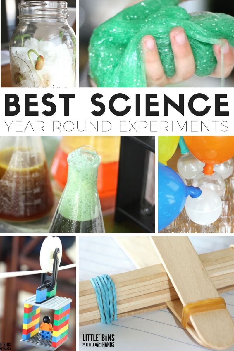 science experiments activities projects cool kindergarten age elementary stem preschool children primary hands convenience