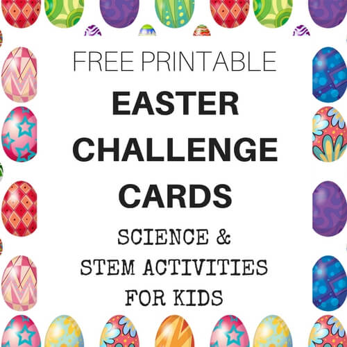 easter stem activities and experiments countdown free printable