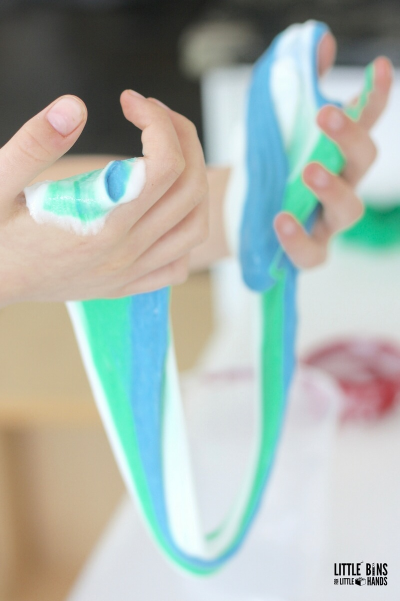 Make Slime That Stretches! Easy Slime Recipe Without Borax And Starch