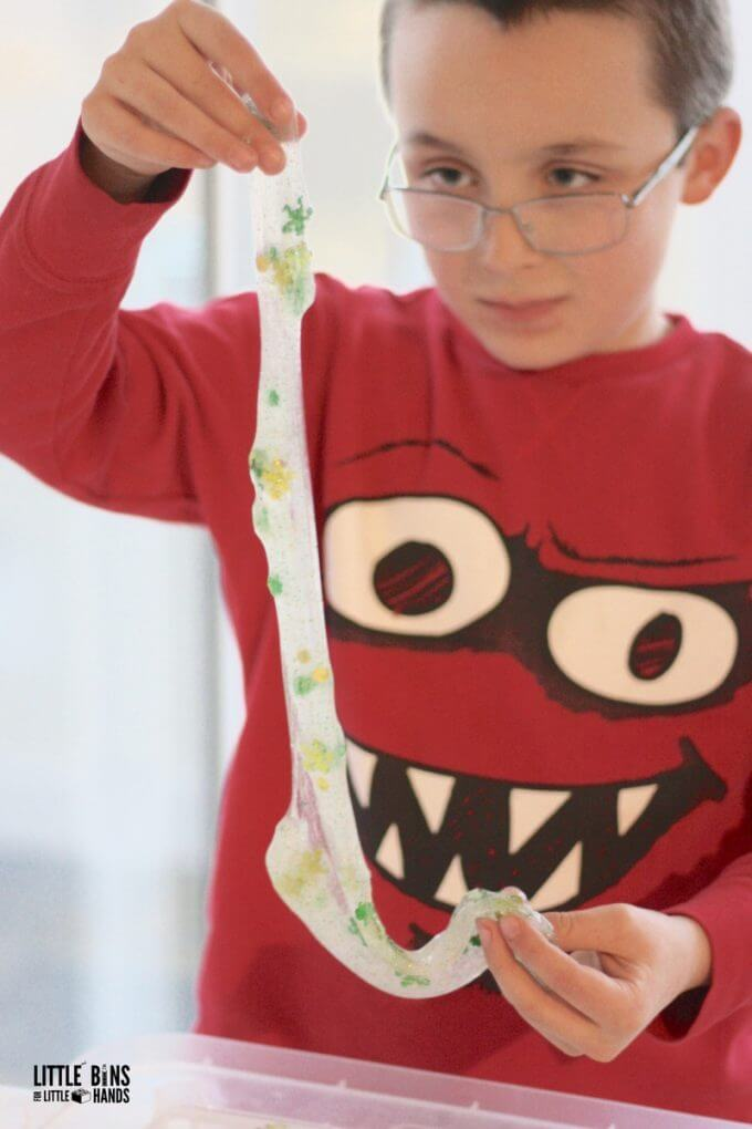 stretchy slime recipe for kids