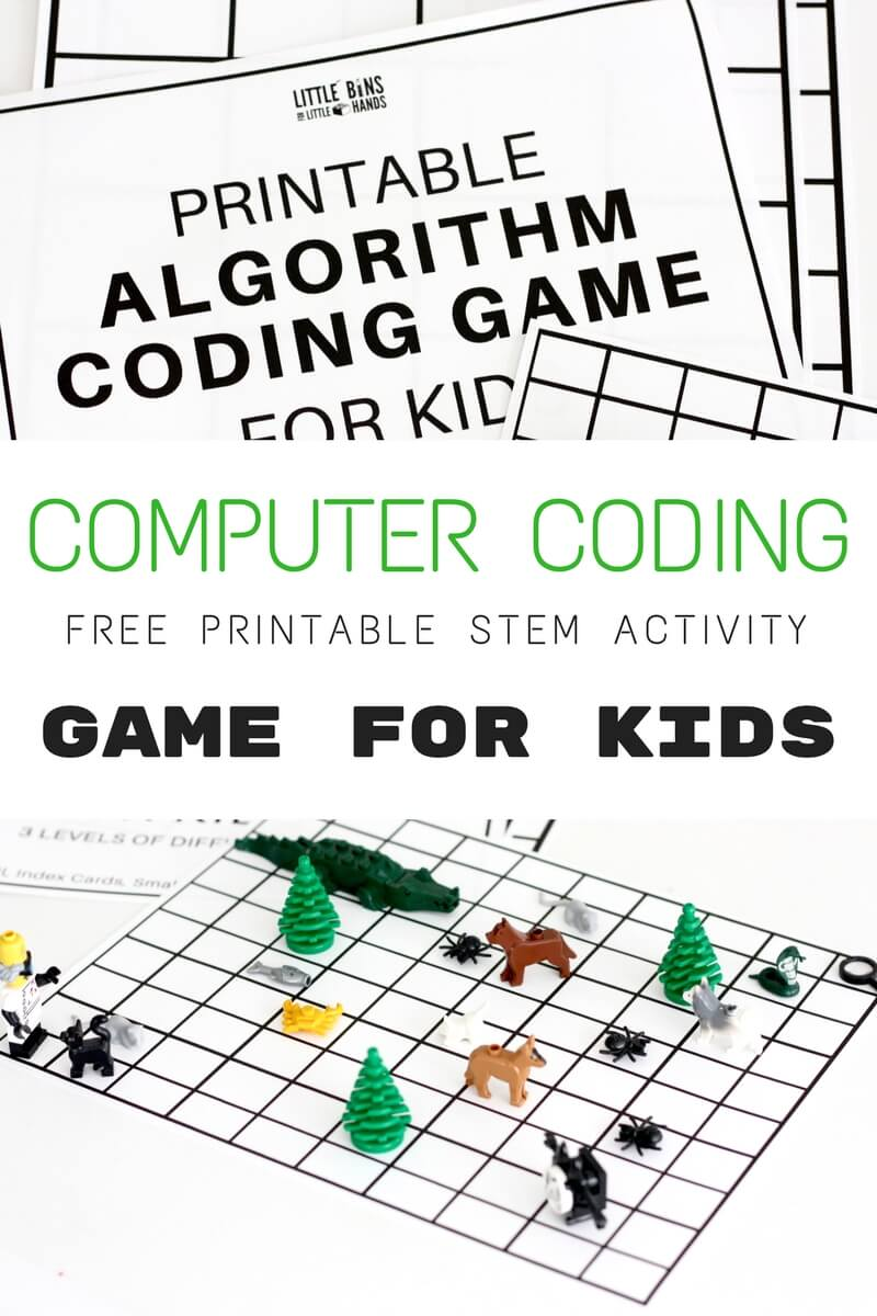 Algorithm Coding Game and Computer Coding for Kids {Free ...