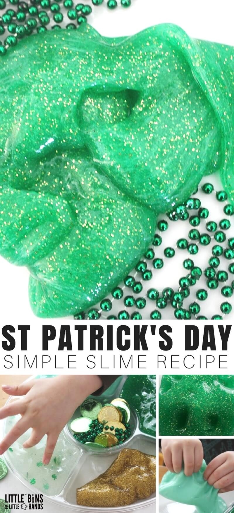 St patricks day slime slime recipe and science activity for kids ive read that everyones irish on st patricks day so we show ccuart Choice Image