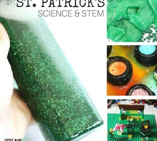 St. Patricks Day Science Activities and STEM Projects