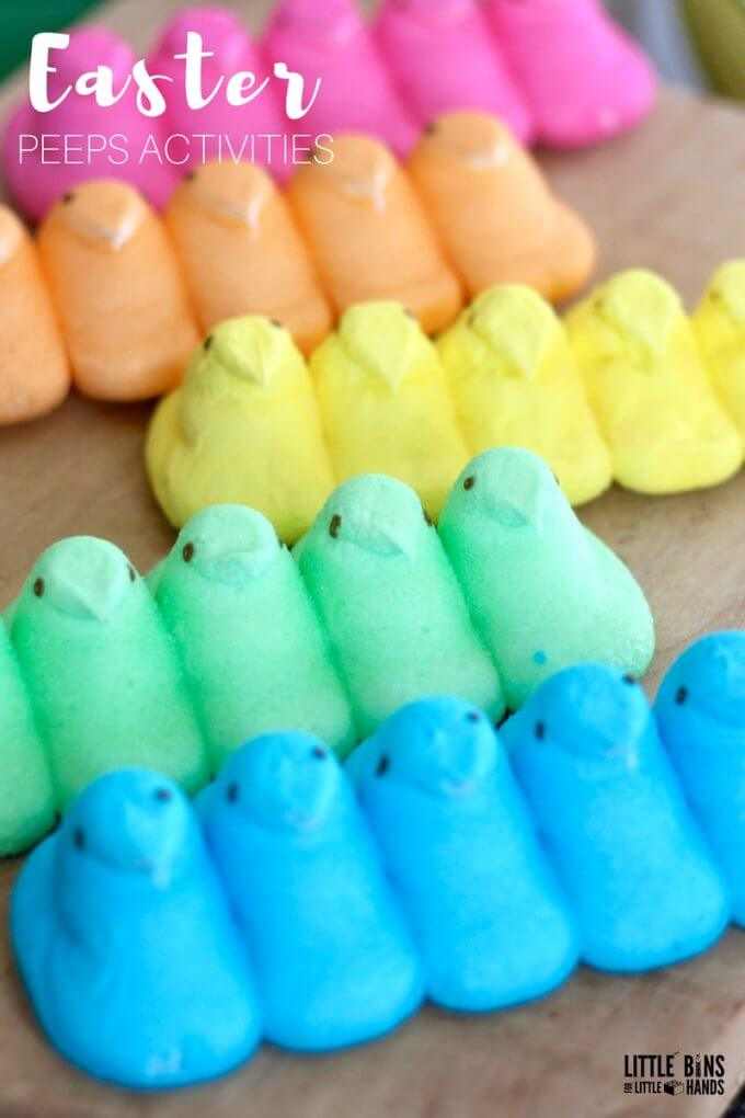 Easter Peeps Science Experiments and Activities