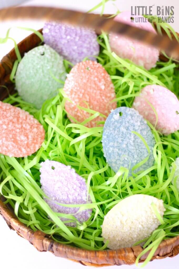 Salt Crystals Easter Science Activity