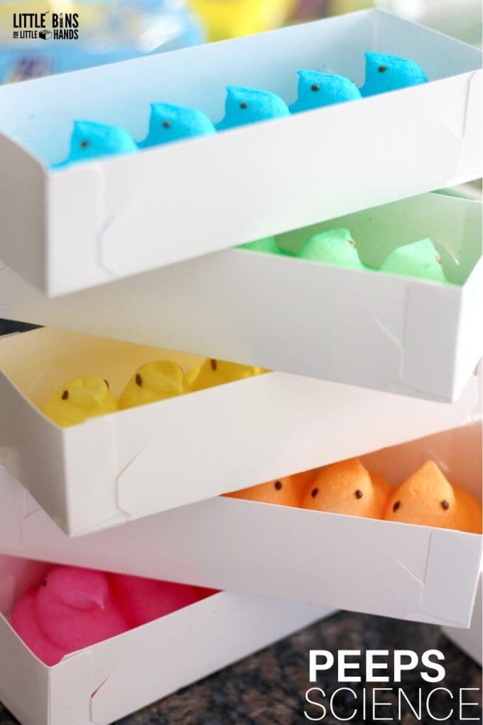 Boxes of peeps for peeps slimes