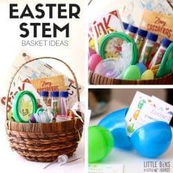 Easter STEM Basket Fillers and Ideas for Kids Easter Baskets