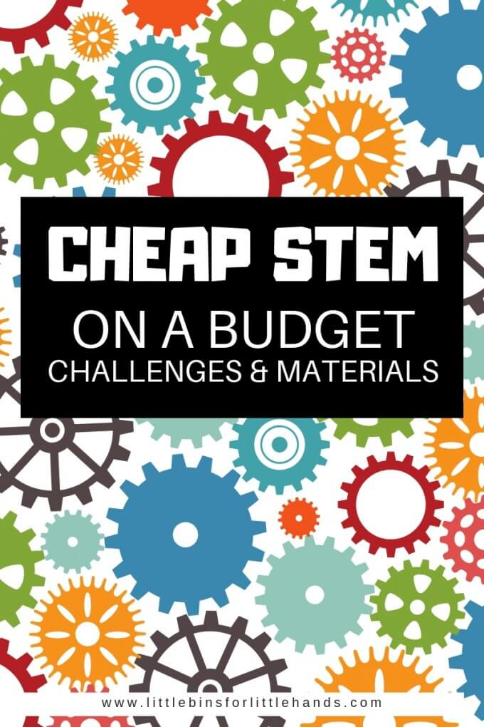 Learn how to put together inexpensive STEM ideas, activities, challenges, and projects