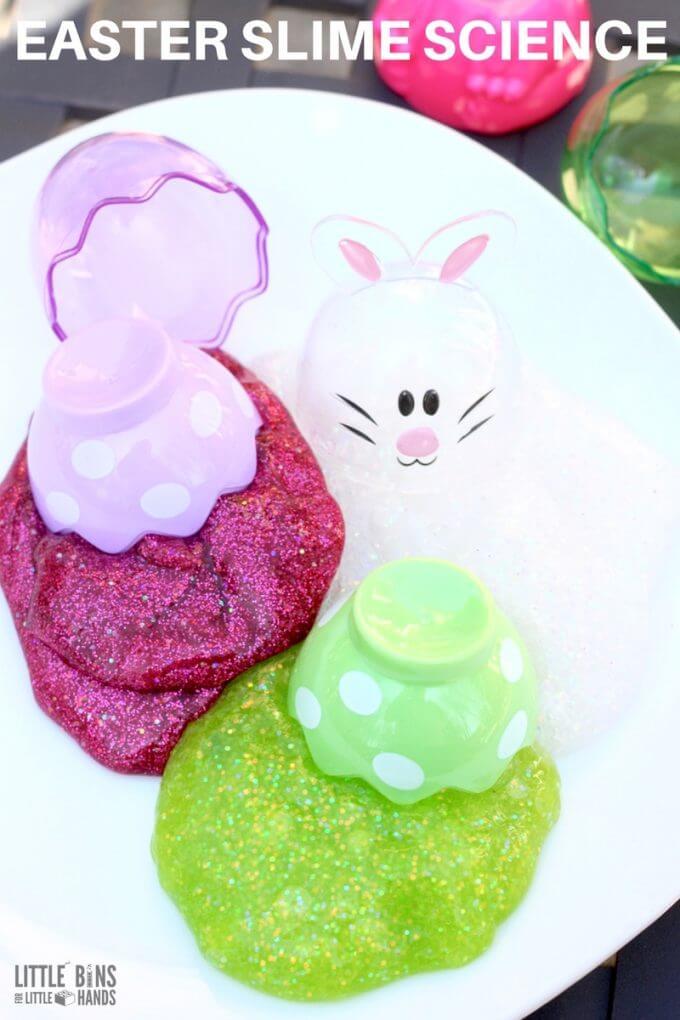 Easter Slime Recipe for Kids
