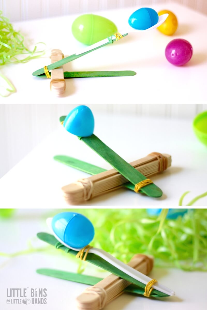 Easter Catapult Stem Activity And Easter Science For Kids
