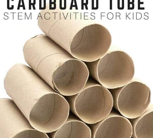 Cardboard Tube STEM Activities