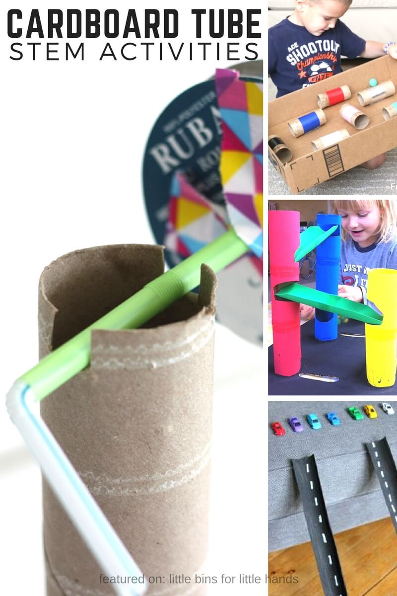 Cardboard Tube Stem Activities And Stem Challenges For Kids