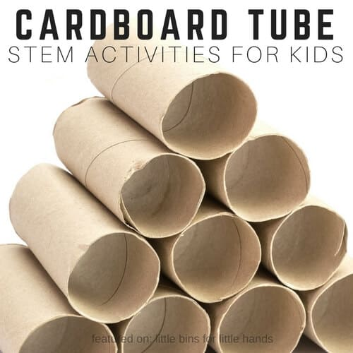 how to cut cardboard tubes