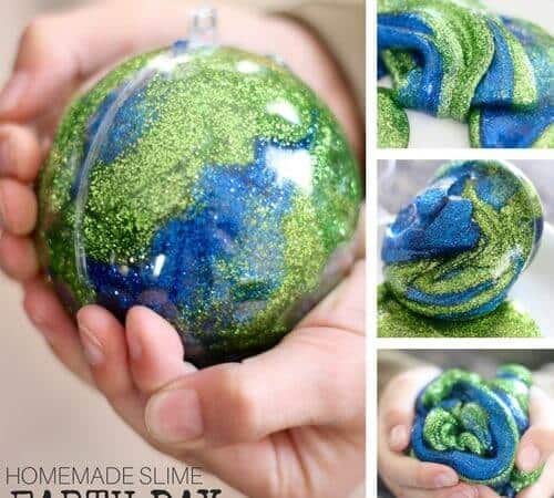 How To Make Earth Day Slime for Kids Science Experiments and Activities