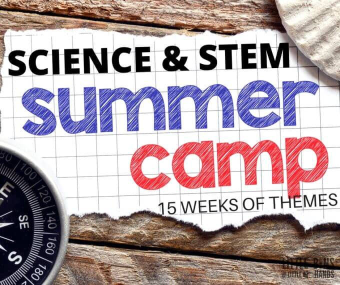 Fun Summer Stem Activities: Summer Science Camp Experiments With Weekly Science Camp