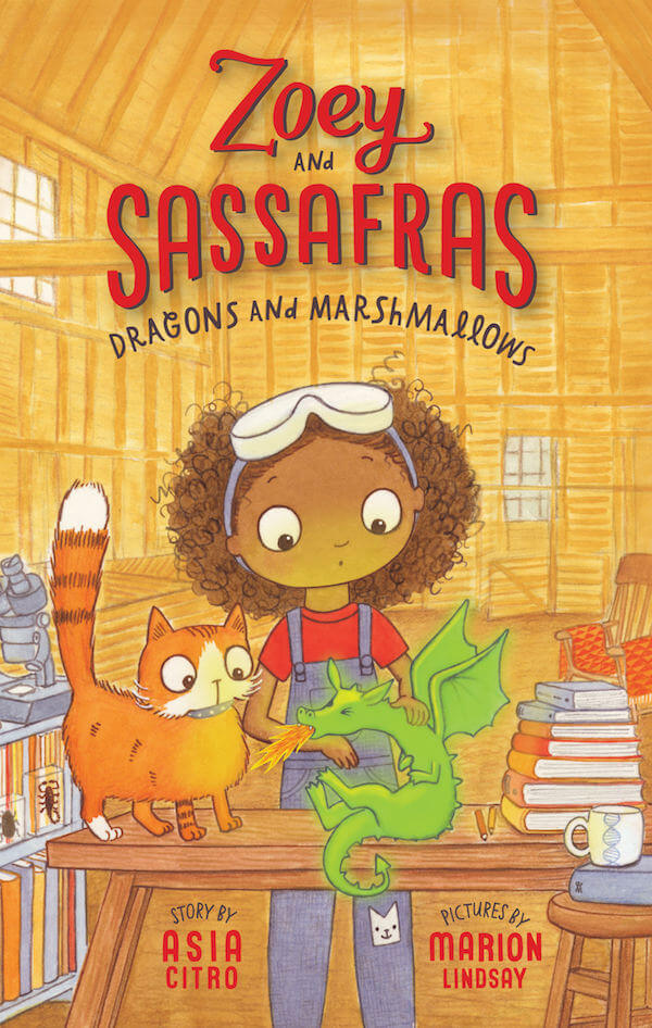 Zoey and Sassafras Dragons and Marshmallows Science Activities