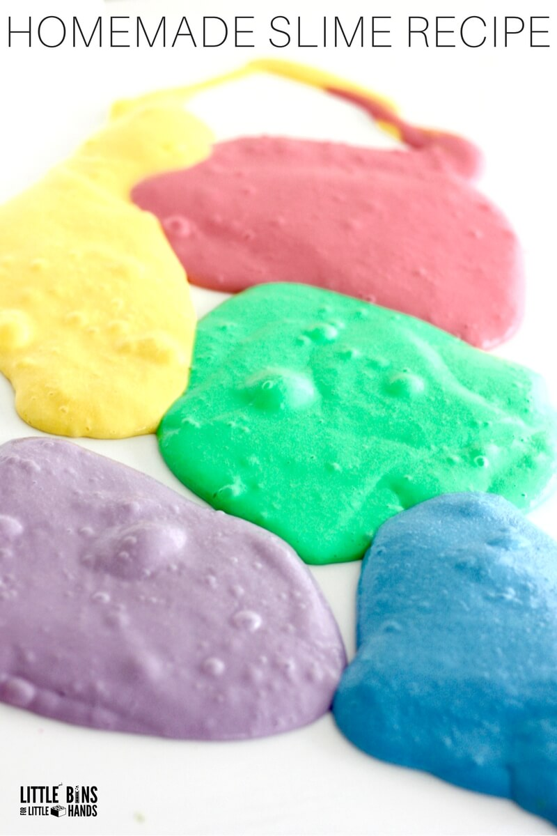 Unicorn slime recipe with stretchy homemade slime homemade stretchy unicorn slime recipe ccuart Image collections