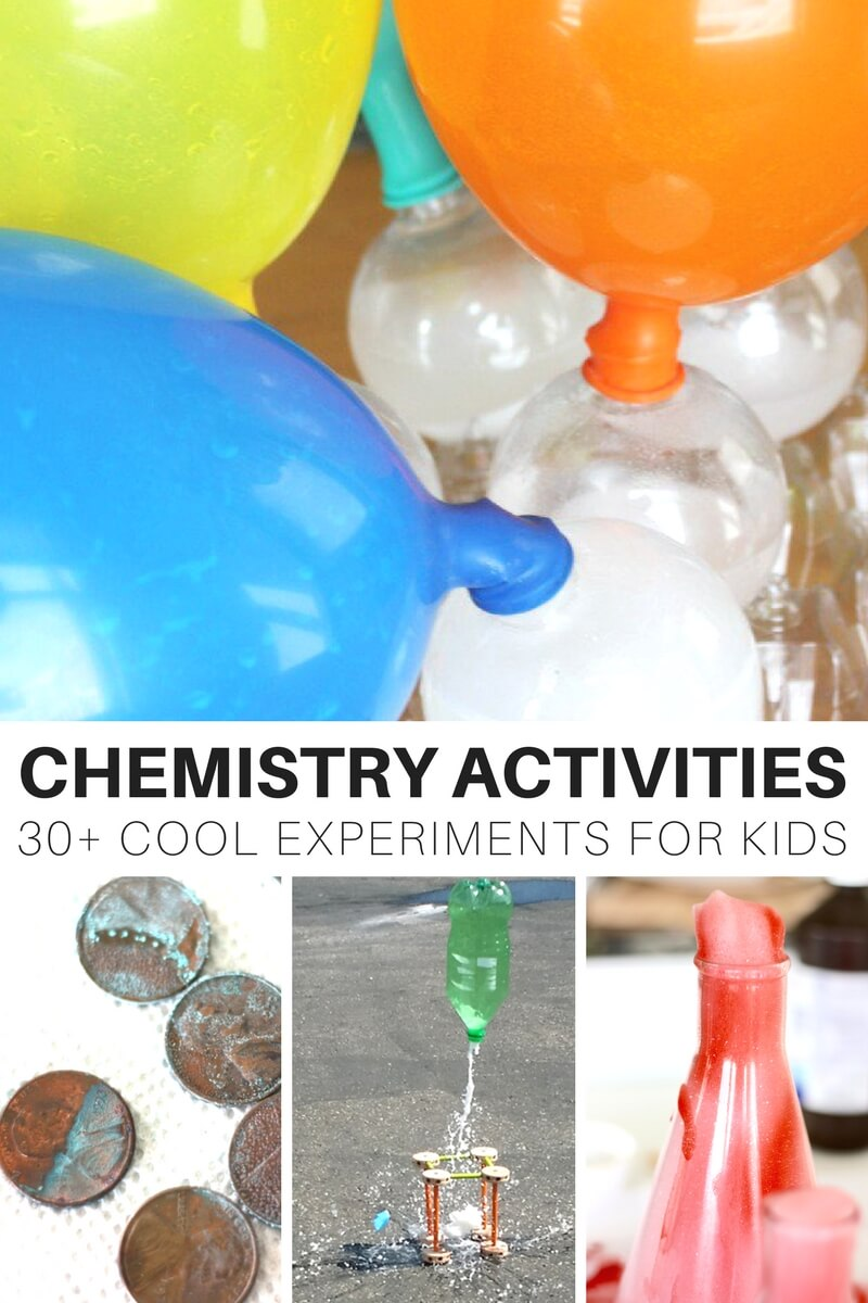 Chemistry Activities and Science Experiments for Kids