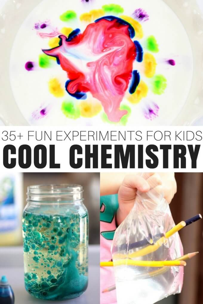 35+ Chemistry Experiments for Kids | Little Bins for Little