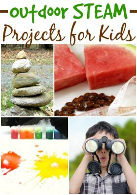 Take STEAM Outdoors projects for kids