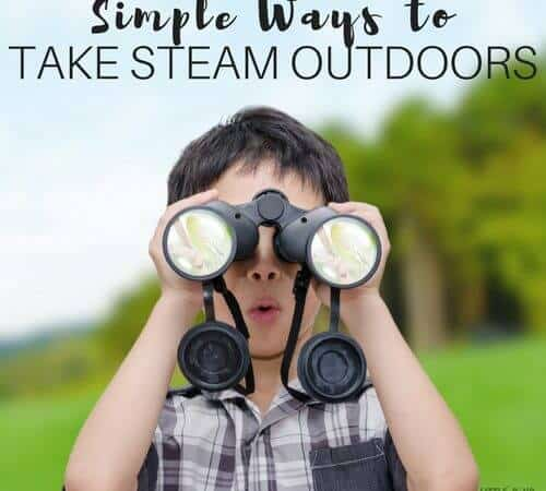 Simple Ways To Take STEAM Outdoors This Summer
