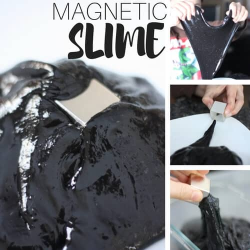 How To Make Magnetic Slime for Kids Science Experiments and Activities