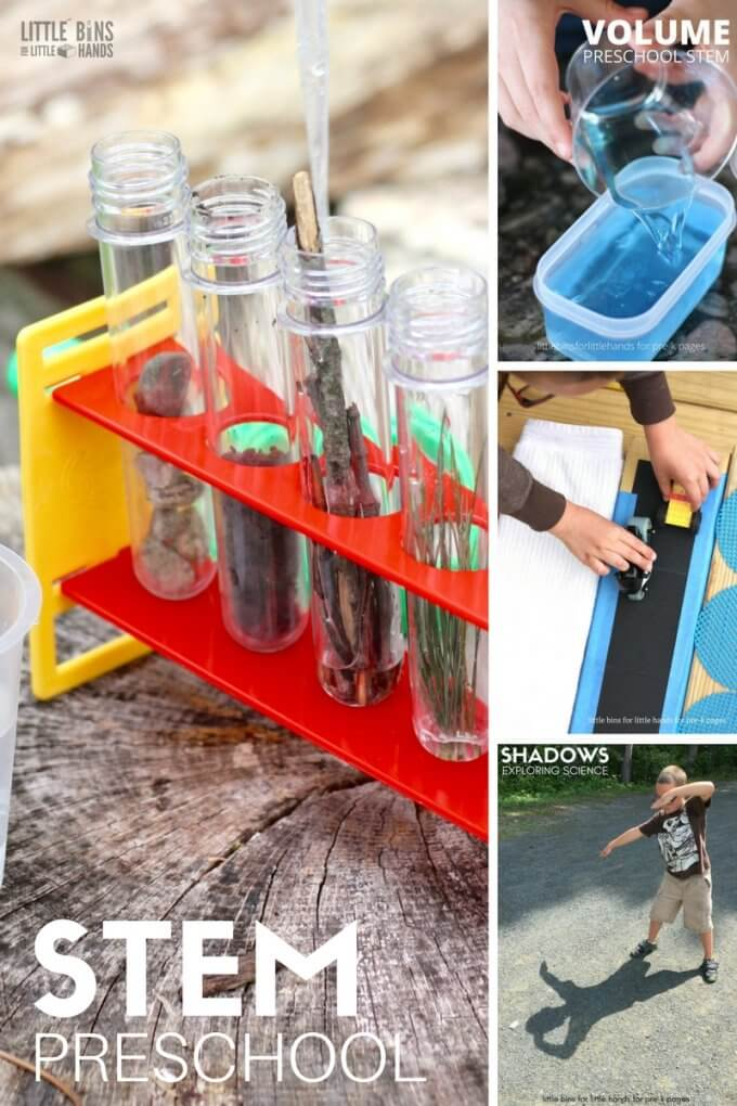 Preschool STEM Activities and Science Experiments