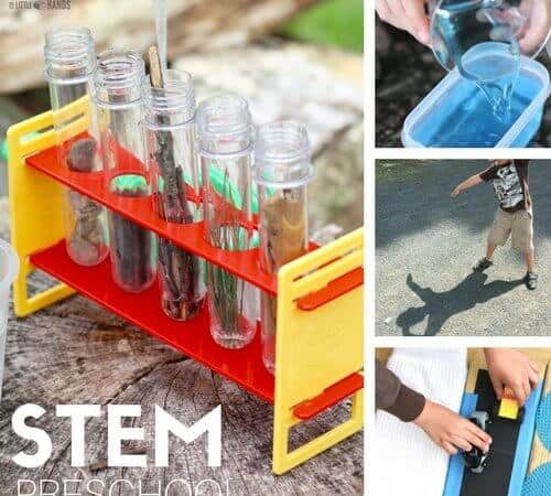 Preschool STEM Activities and Science Experiments