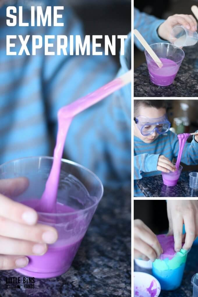 slime experiment - change the amount of glue