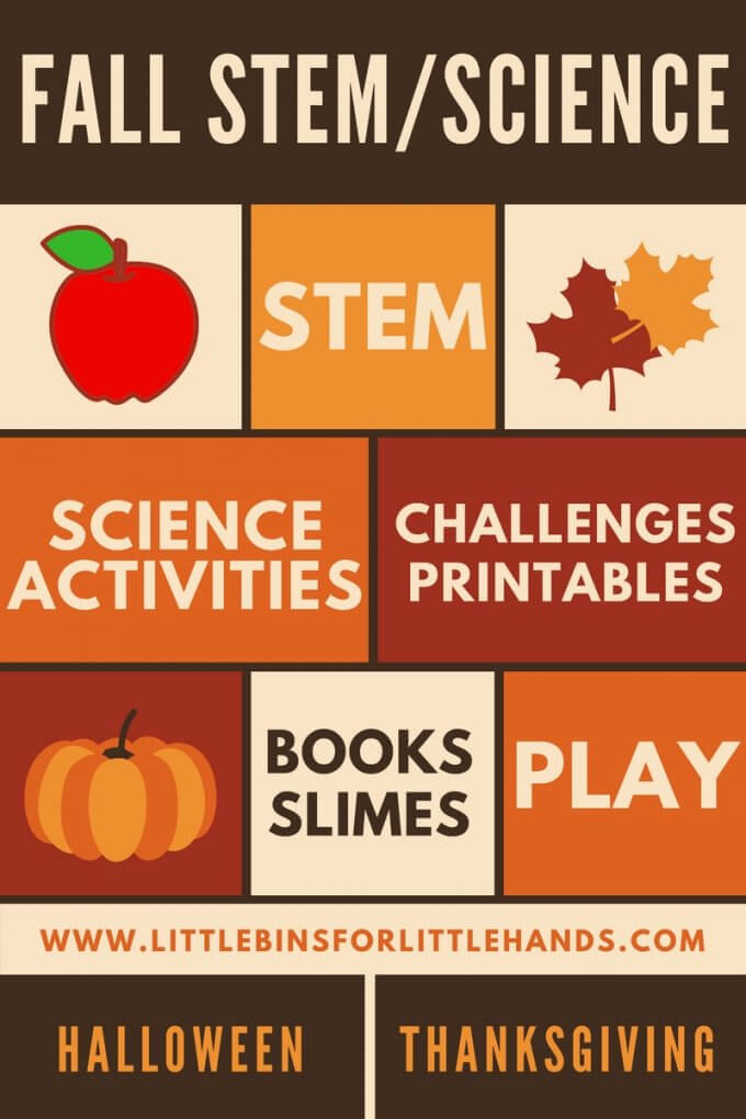 Fall STEM Activities and Fall Science Experiments for Kids