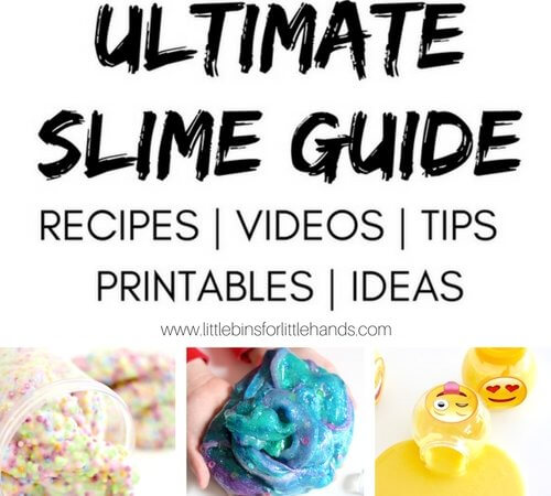 Slime Activities for Kids with Recipes, Videos, Tips, and Ideas