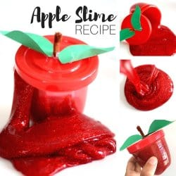 Apple Theme Slime Recipe