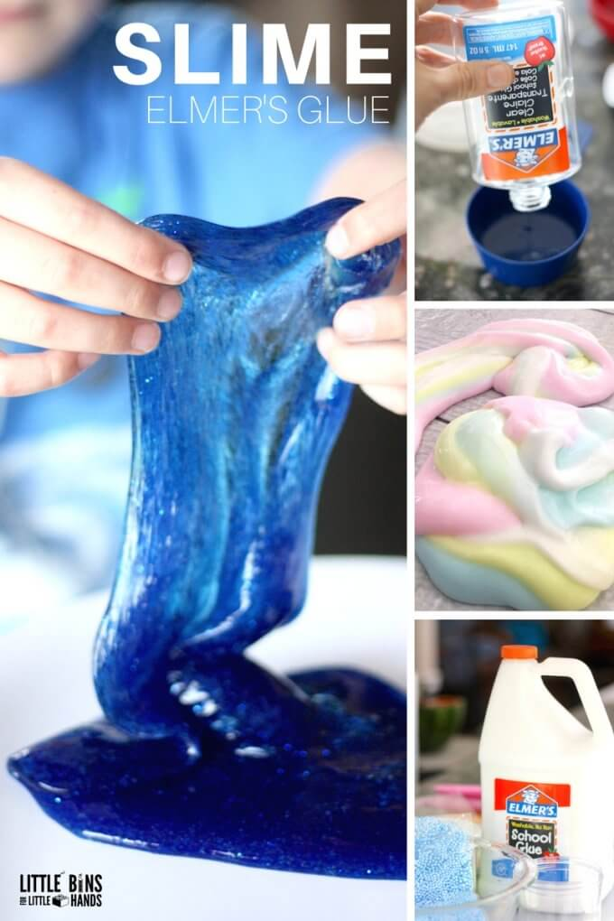 how to make slime with saline solution