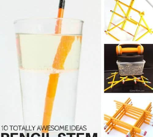 Totally Awesome STEM Activities Using Pencils That Kids Will Love!
