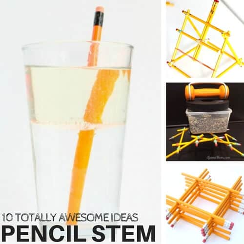 Totally awesome STEM activities using pencils that kids will love