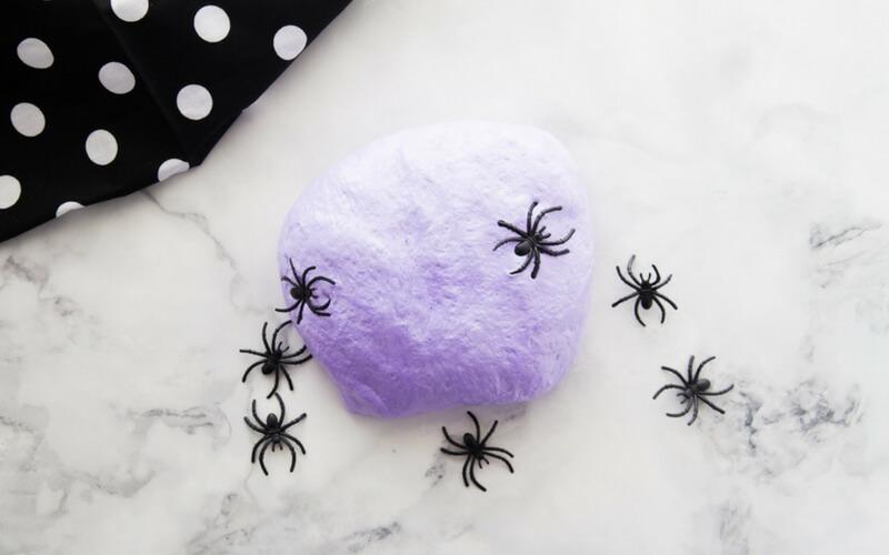 Fluffy Halloween Slime for Kids