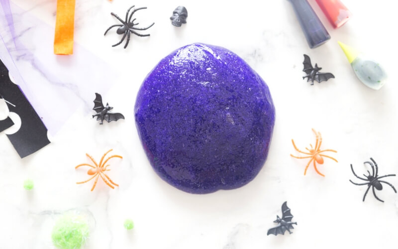 Easy Halloween Slime Recipe