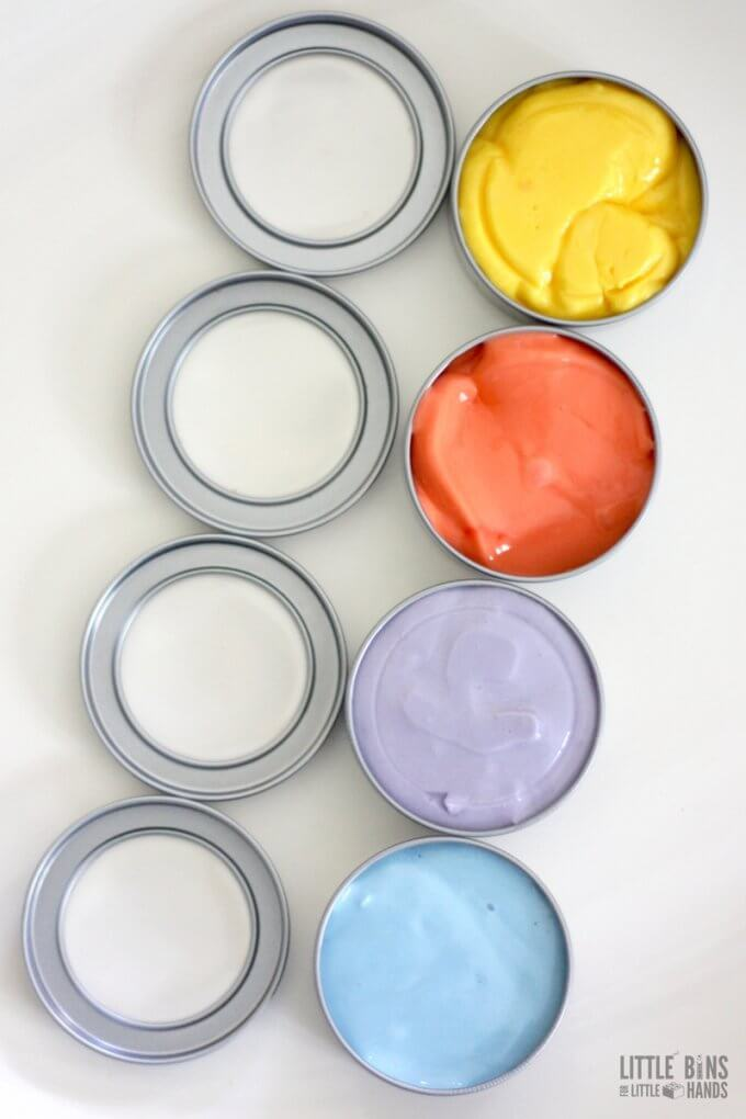 DIY thinking putty. Make your own homemade thinking putty recipe, copy cat version with kids