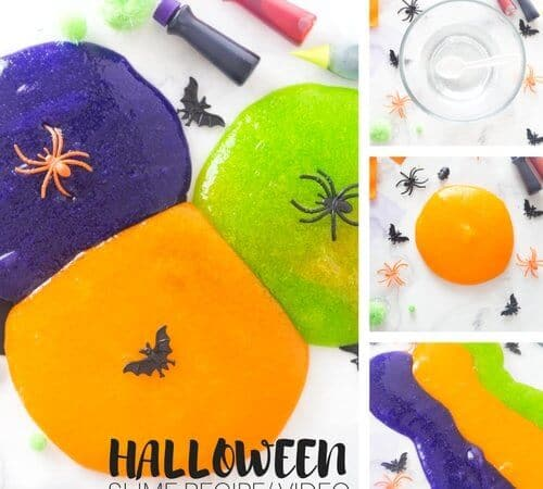 Amazingly Easy Homemade Halloween Slime Recipe You Have To Try {with Video}