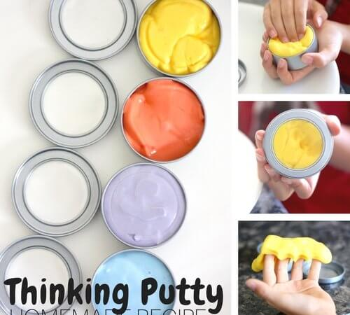 Make Your Own Homemade Thinking Putty Recipe for Less!
