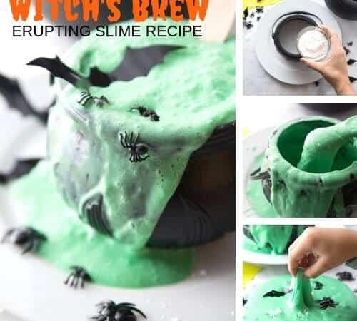 Bubbling Halloween Slime – Hocus Pocus Slime Making Fun for Kids!