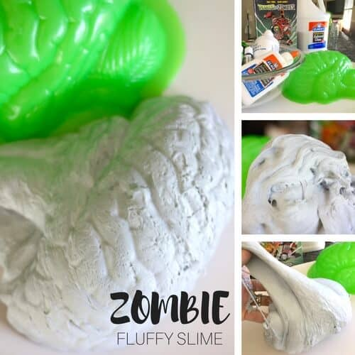 How To Make Zombie Slime with Fluffy Slime Recipe for Kids | 500 x 500 jpeg 40kB