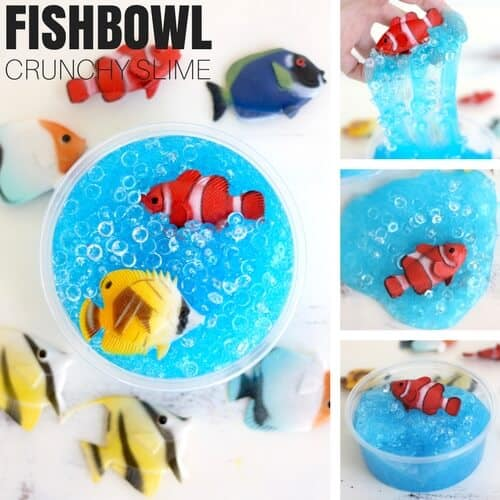How Do You Make Slime : Fishbowl Beads Crunchy Slime Recipe