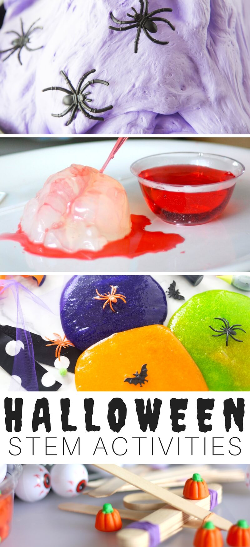 Halloween STEM Activities Calendar Free Printable Countdown To Halloween with Science Experiments and STEM
