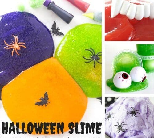 Halloween Slime Recipes and Ideas for Kids To Make